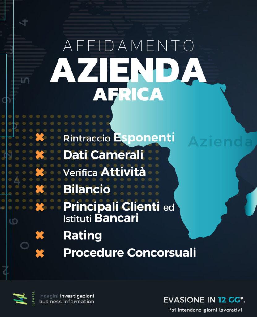 affidamento azienda africa