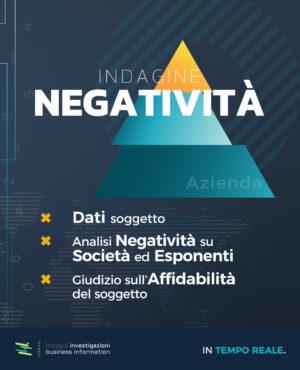 indagine negatività